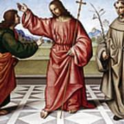 Jesus & Thomas Art Print