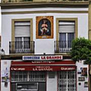 Jesus And The Cerveceria Art Print
