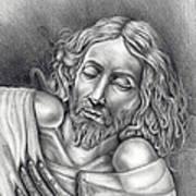 Jesus At Rest Art Print