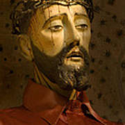 Jesus Christ San Xavier Del Bac Art Print