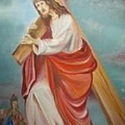 Jesus Print by Prasenjit Dhar
