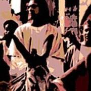 Jesus Rides Into Jerusalem Art Print