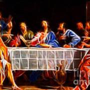 Jesus The Last Supper Art Print by Pamela Johnson