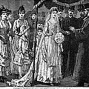 Jewish Wedding, C1892 Art Print