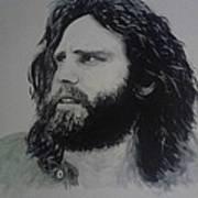 Jim Morrison Last Year Of Life Art Print