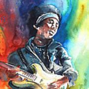 Jimi Hendrix 02 Art Print