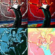 Jimmy Hendrix Pop Art Print