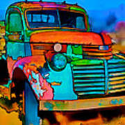 Jimmy In Taos II Art Print