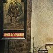 Jinglin' Geordie Art Print
