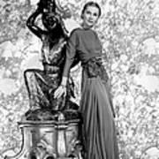 Joan Fontaine Art Print by Everett