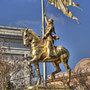 Joan Of Arc Statue New Orleans Art Print