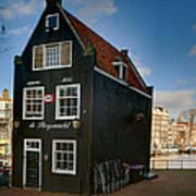 Jodenbreestraat 1. Amsterdam Art Print