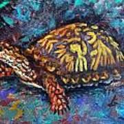 Joe Turtle Art Print
