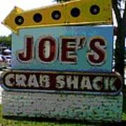 Joe's Crab Shack Art Print