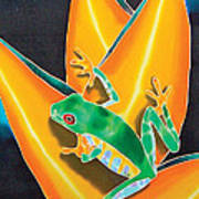 Joe's Treefrog Art Print