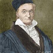 Johann Carl Friedrich Gauss, German Art Print