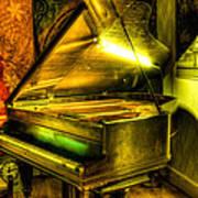 John Broadwood And Sons Grand Piano Art Print