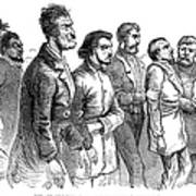 John Brown Trial, 1859 Art Print