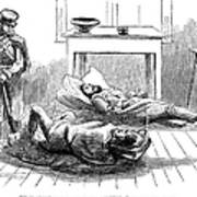 John Browns Raid, 1859 Art Print