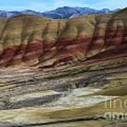 John Day Painted Hills Art Print