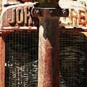 John Deere Radiator  Art Print