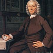 John Harrison, English Inventor Art Print by Photo Researchers