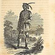 John Horse Was Born In 1812 In Florida Art Print by Everett