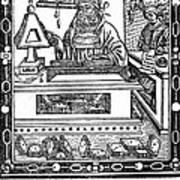 John Peckham, Anglican Theologian Art Print by Science Source