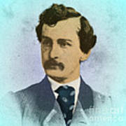 John Wilkes Booth, Assassin Print by Photo Researchers
