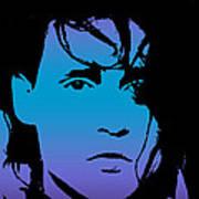 Johnny As Edward Art Print