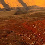 John's Canyon Road San Juan County Utah Art Print