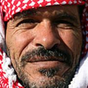 Jordanian Man Print by Munir Alawi
