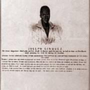 Joseph Cinquez, Lead Fifty-four African Art Print by Everett