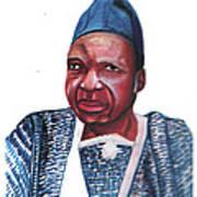 Joseph Ki-zerbo Art Print