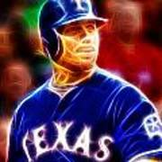 Josh Hamilton Magical Art Print by Paul Van Scott