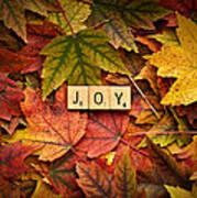 Joy-autumn Art Print