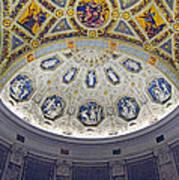 Jp Morgan Library Ornate Ceiling Art Print