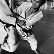 Judo Art Print by Bernard Wolff