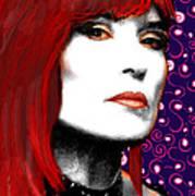 Judy Rose Art Print