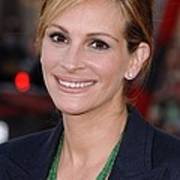 Julia Roberts At Arrivals For Larry Art Print