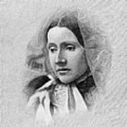 Julia Ward Howe (1819-1910) Art Print by Granger