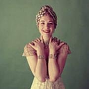 Julie Andrews, Mid-late 1950s Art Print