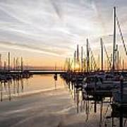 July Evening In The Marina Art Print