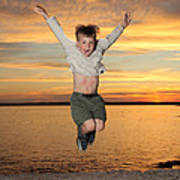 Jumping For Joy Art Print
