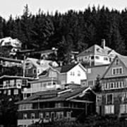 Juneau Homes Art Print