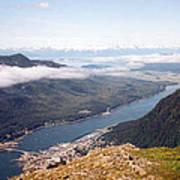 Juneau View Art Print