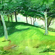 Jungle 2 Art Print by Anil Nene