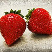 Just 2 Classic Berries Art Print