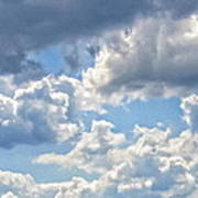 Just Clouds Art Print