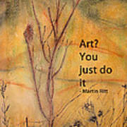 Just Do It Art Print